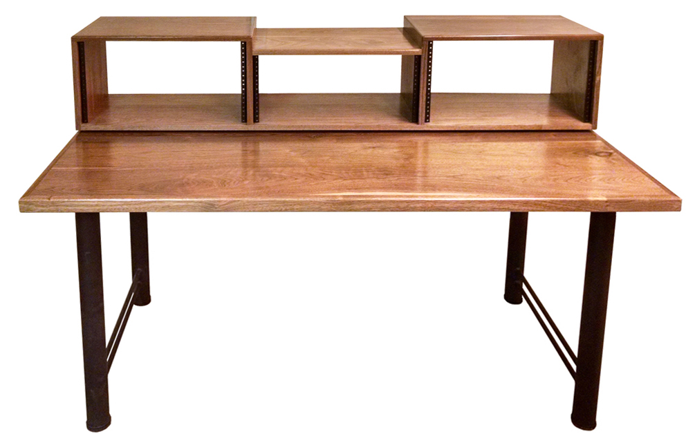 Solid Black Walnut With Clear Satin Lacquer