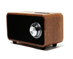 Retro Wooden Bluetooth 4.0 Wireless Speaker with FM Radio