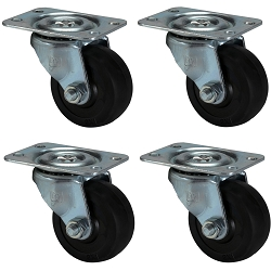 Penn Elcom 2'' Swivel Caster (4 Pack)