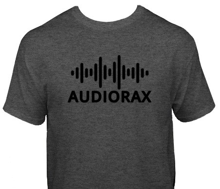 AudioRax Logo T-Shirt, Grey
