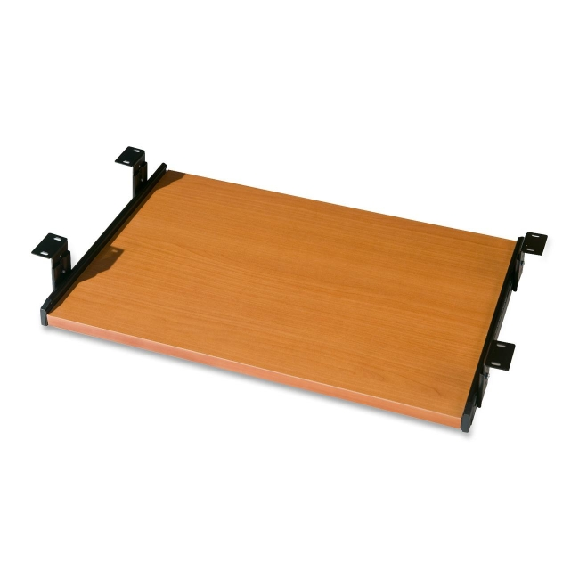 Solid Wood Sliding Computer Keyboard Tray