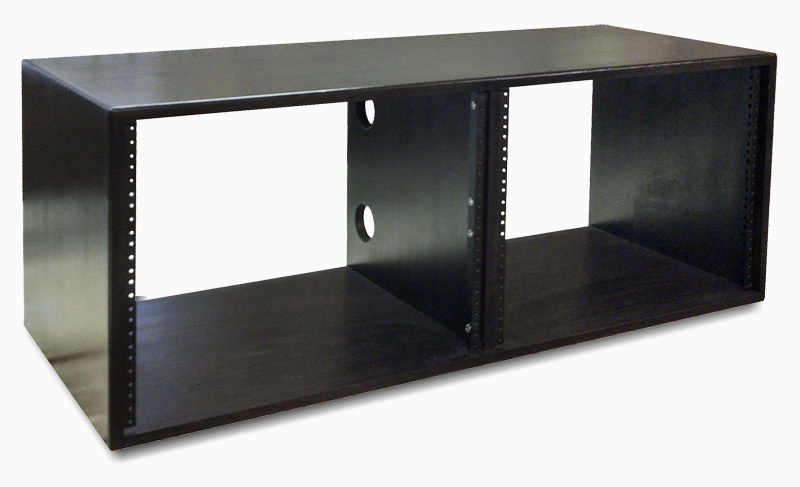 8U x 2 (16U) | AudioRax Double Bay Studio Rack