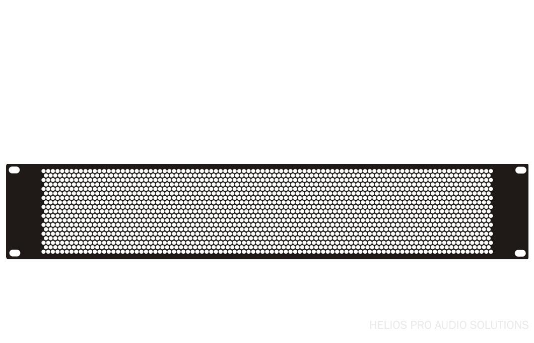 Penn Elcom Perforated Rack Panel 1u Vented