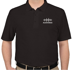 AudioRax Embroidered Logo Polo Shirt