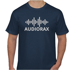 AudioRax Logo T-Shirt, Navy