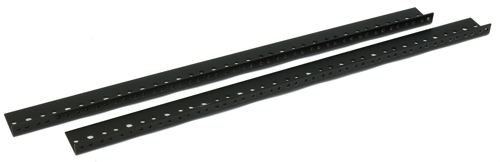 AudioRax Rack Rail Pair | 12 Space (12U) | 1/2RU Spacing