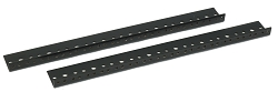 AudioRax Rack Rail Pair | 8 Space (8U) | 1/2RU Spacing
