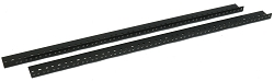AudioRax Rack Rail Pair | 14 Space (14U) | 1/2RU Spacing