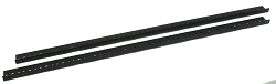 AudioRax Rack Rail Pair | 18 Space (18U) | 1/2RU Spacing