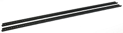 AudioRax Rack Rail Pair | 20 Space (20U) | 1/2RU Spacing