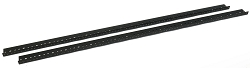 AudioRax Rack Rail Pair | 24 Space (24U) | 1/2RU Spacing