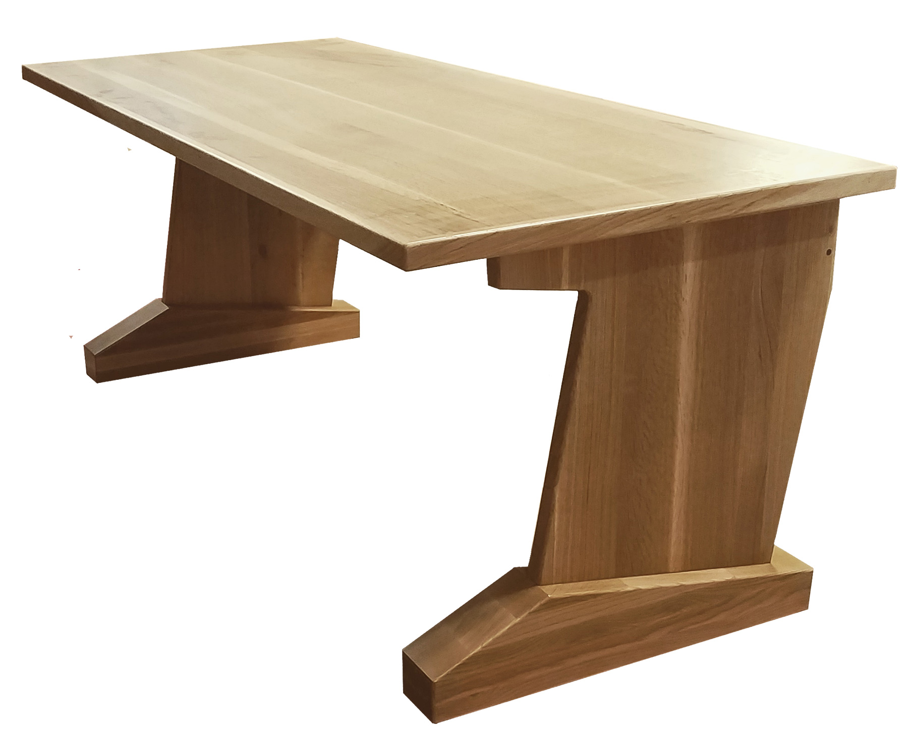 Admirable Audiorax Desk Design D 30 Deep X 72 Wide Solid Wood Desk Top Solid Wood Desk Legs Solid White Oak With Clear Lacquer Download Free Architecture Designs Scobabritishbridgeorg
