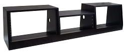 Desktop 646 (16U) | AudioRax Triple Bay Slant Studio Rack