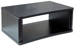 Black Studio Equipment Racks | 2U, 3U, 4U, 6U, 8U, 10U, 12U