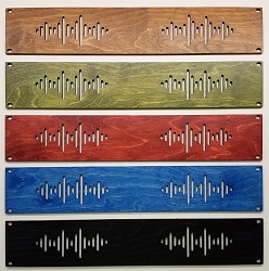 AudioRax | Hardwood Plywood Rack Panel Vented | 1U, 2U