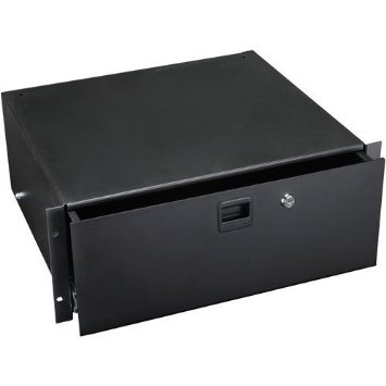 Penn Elcom 3234LK Locking Rack Drawer | 4 Space (4U)