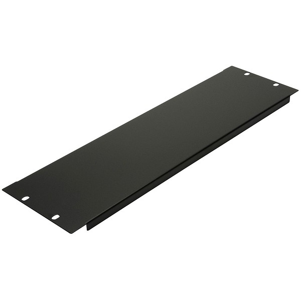 Penn Elcom Flanged Blank Rack Panel | 3 Space (3U)