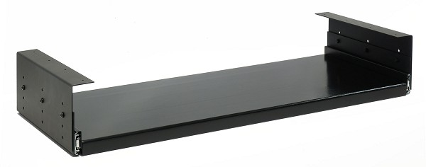 Universal Adjustable Keyboard Tray Brackets and Slides | Tray Included