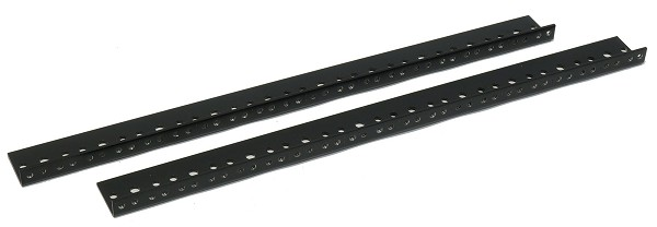AudioRax Rack Rail Pair | 10 Space (10U) | 1/2RU Spacing